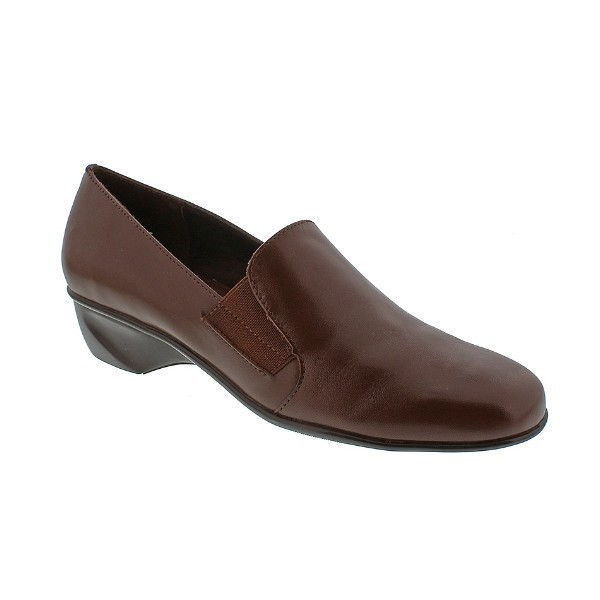 WOMEN'S TERI TOBACCO LEATHER SLIP-ON Thumbnail