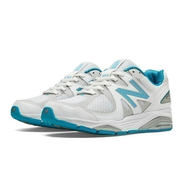 WOMEN'S W1540WB2 WHITE/BLUE RUNNING Thumbnail