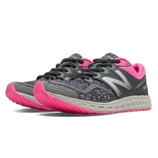 WOMEN'S W1980GG GREY/PINK RUNNING Thumbnail