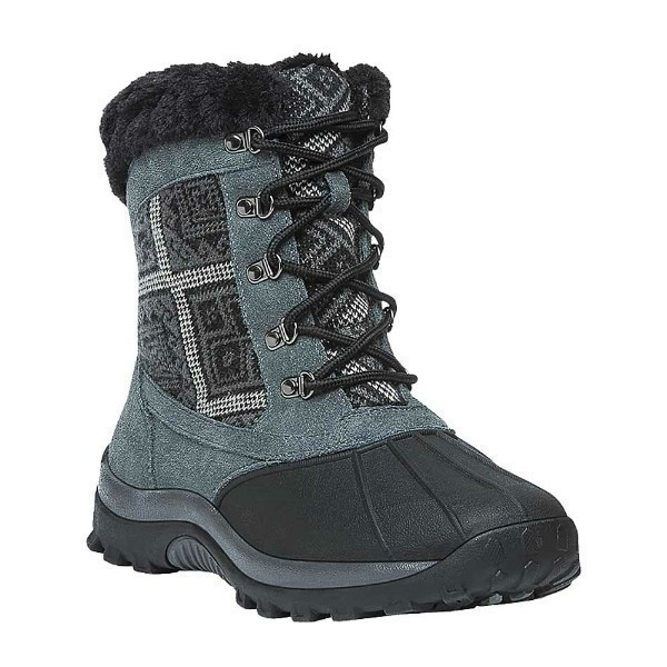 WOMEN'S BLIZZARD MID LACE II BLACK AZTEC BOOT Thumbnail