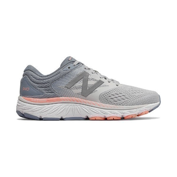 WOMEN'S W940GP4 GREY/PINK RUNNER Thumbnail