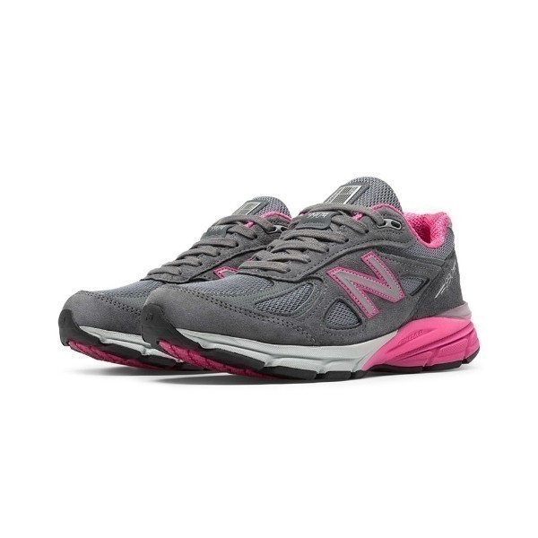 WOMEN'S W990GP4 GREY/PINK RUNNER Thumbnail