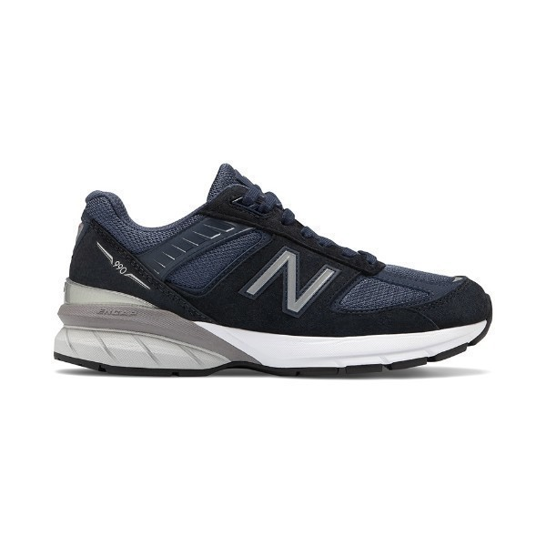 WOMEN'S W990NV5 NAVY/SILVER RUNNER Thumbnail