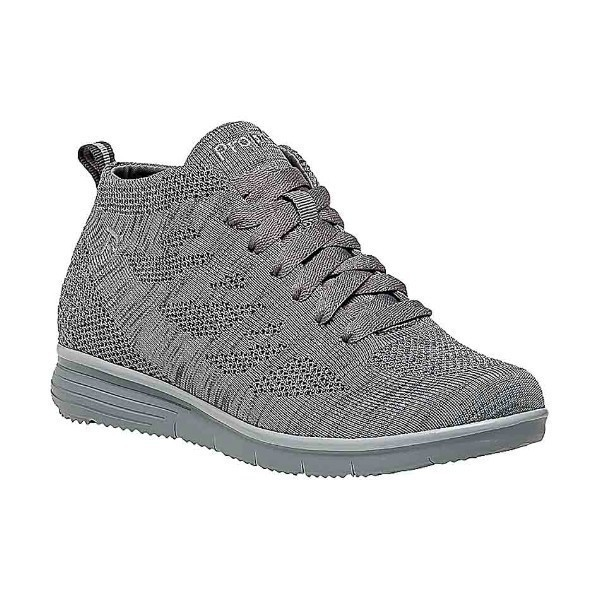 WOMEN'S TRAVELFIT HI LT.GREY SNEAKER Thumbnail