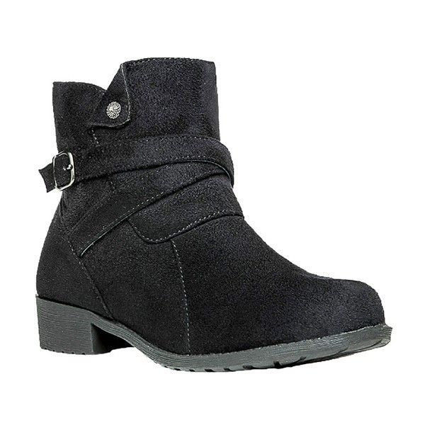 WOMEN'S SHELBY BLACK SHORT BOOT Thumbnail