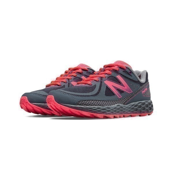 WOMEN'S WTHIERG GREY/PINK TRAIL RUNNER Thumbnail
