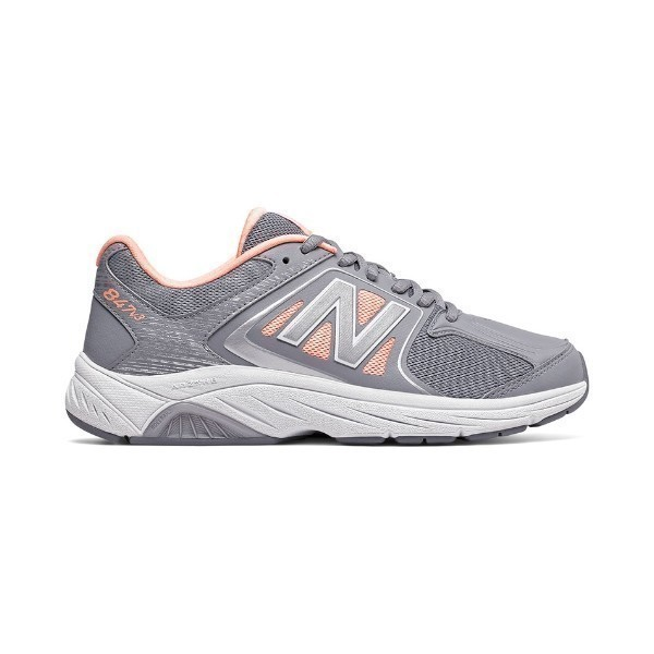 WOMEN'S WW847GY3 GREY/PINK WALKING Thumbnail