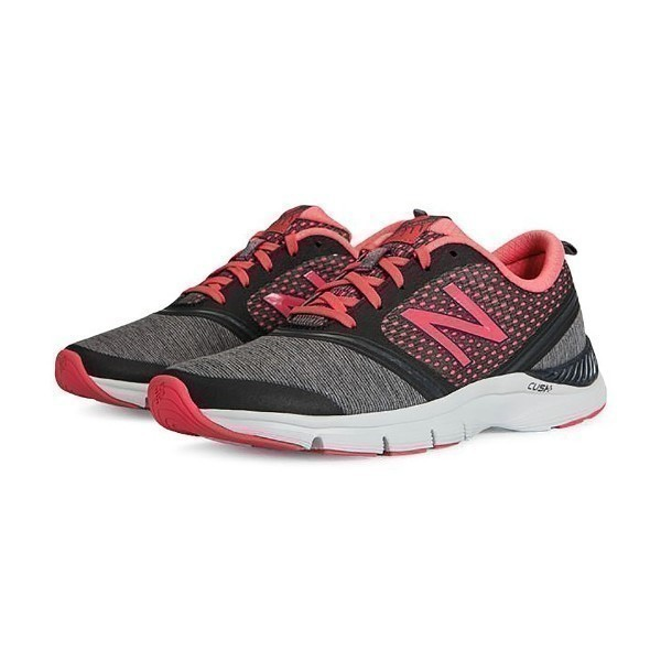 WOMEN'S WX711WB GREY/PINK TRAINER Thumbnail