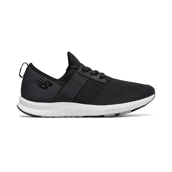 WOMEN'S WXNRGBK BLACK/WHITE TRAINER Thumbnail